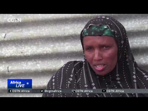 Dozens flee their villages in Somalia in search of food and water
