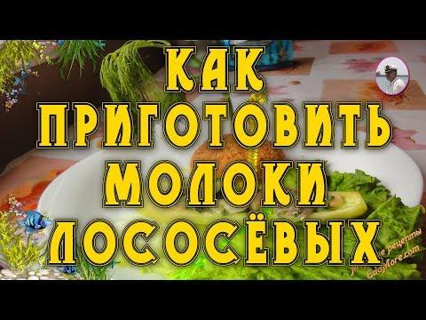 Как приготовить молоки лососевых. Диетический салат из лососевых молок от Petr de Crilon