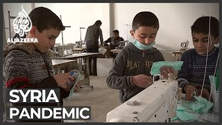 Extreme medical shortages in rebel-held Idlib city in Syria
