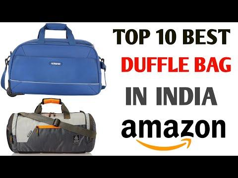 Top 10 best duffle bag || best duffle bag for travel in india || best duffel bag for travel