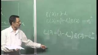 Mod-02 Lec-09 Householder Method, Tridiagonal Matrices