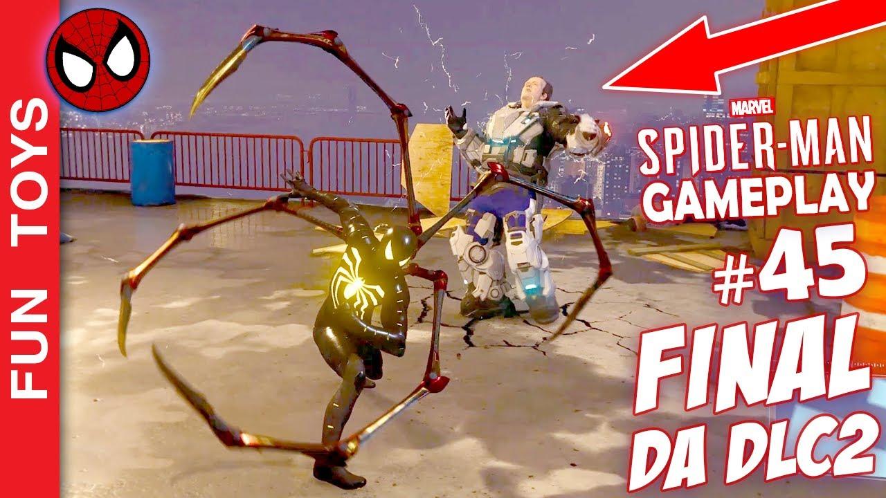Marvel Spider-Man #45 - FINAL da DLC 2! Luta ÉPICA contra HAMMERHEAD e sua armadura Olympus! 🕷🕸🔨😬