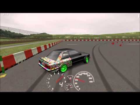 LFS BMW E30 Drift