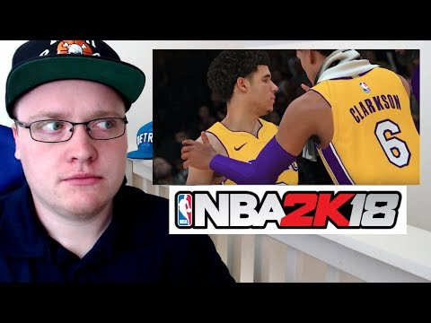 NBA 2K18 FIRST GAME PLAY TRAILER! REACTION