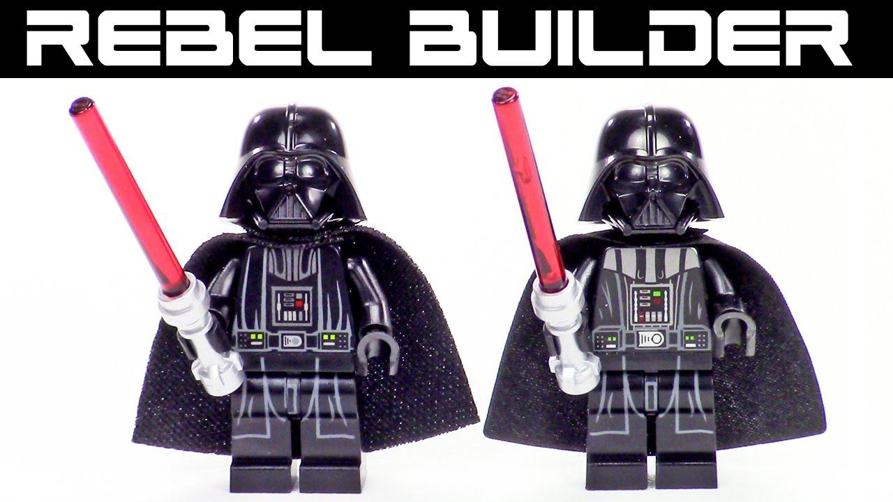 lego wars minifig comparison darth vader