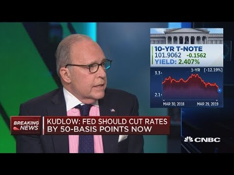 White House advisor Larry Kudlow: Don't think underlying economy is slowing