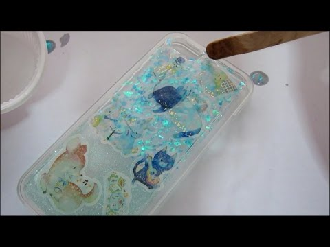 DIY resin  phone case