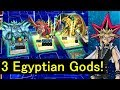 [Yu-Gi-Oh! Duel Links] Ojama XYZ to summon 3 Egyptian Gods