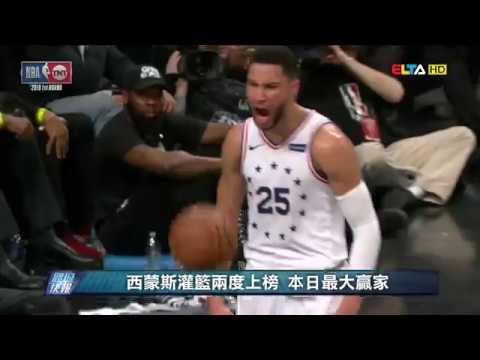 愛爾達電視20190419│【NBA好球】官網嚴選五大好球 一灌比一灌精彩