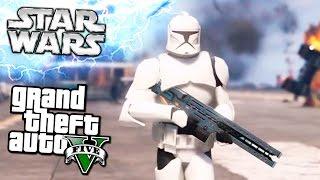 GTA 5 Моды: STAR WARS - Звездные воины!