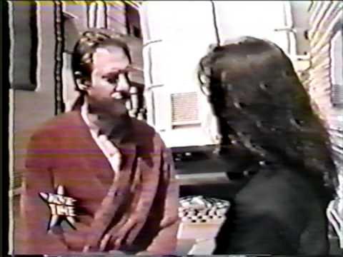 Marina Sirtis Interviews Brent Spiner on Star Trek set