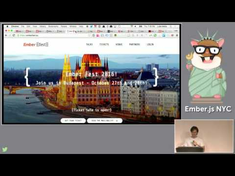 Ember.js NYC, May 2016: Robert Jackson on app structure & Erik Bryn on Taming CSS in Ember