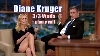Diane Kruger - Talented German Beauty -  3/3 Visits + 1 Phone Call - In Chronological Order [1080]