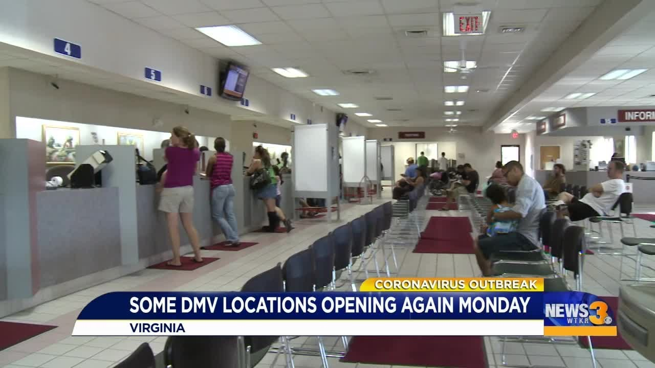 Six more DMV locations to open next week