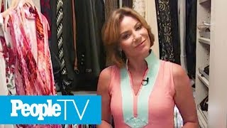 Luann de Lesseps' Renovated Closet Is Every Girl's Dream: Get An Exclusive Look Inside | PeopleTV