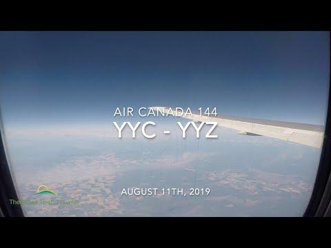 Air Canada 144 | Calgary (YYC) - Toronto (YYZ) | Trip Report 2019