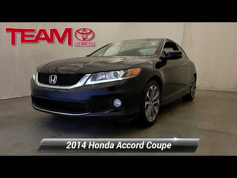 Used 2014 Honda Accord Coupe EX-L, GLEN MILLS, PA GM34015A