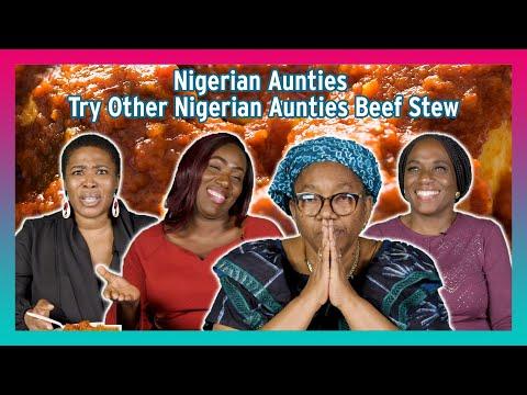 Download Nigerian Aunties Try Other Nigerian Aunties' Beef Stew