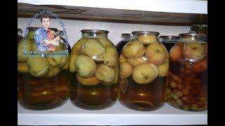 видео Компот из винограда на зиму на 3 литровую банку: много рецептов!