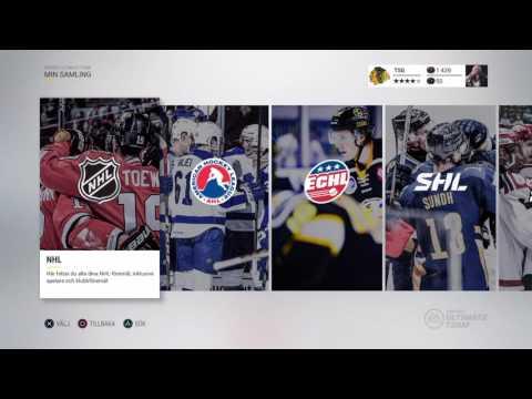 NHL 17 MITT LAG & MATCH & NYHETER INFO / PÅ SVENSKA