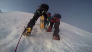 Mont blanc ascent 1080p 60fps