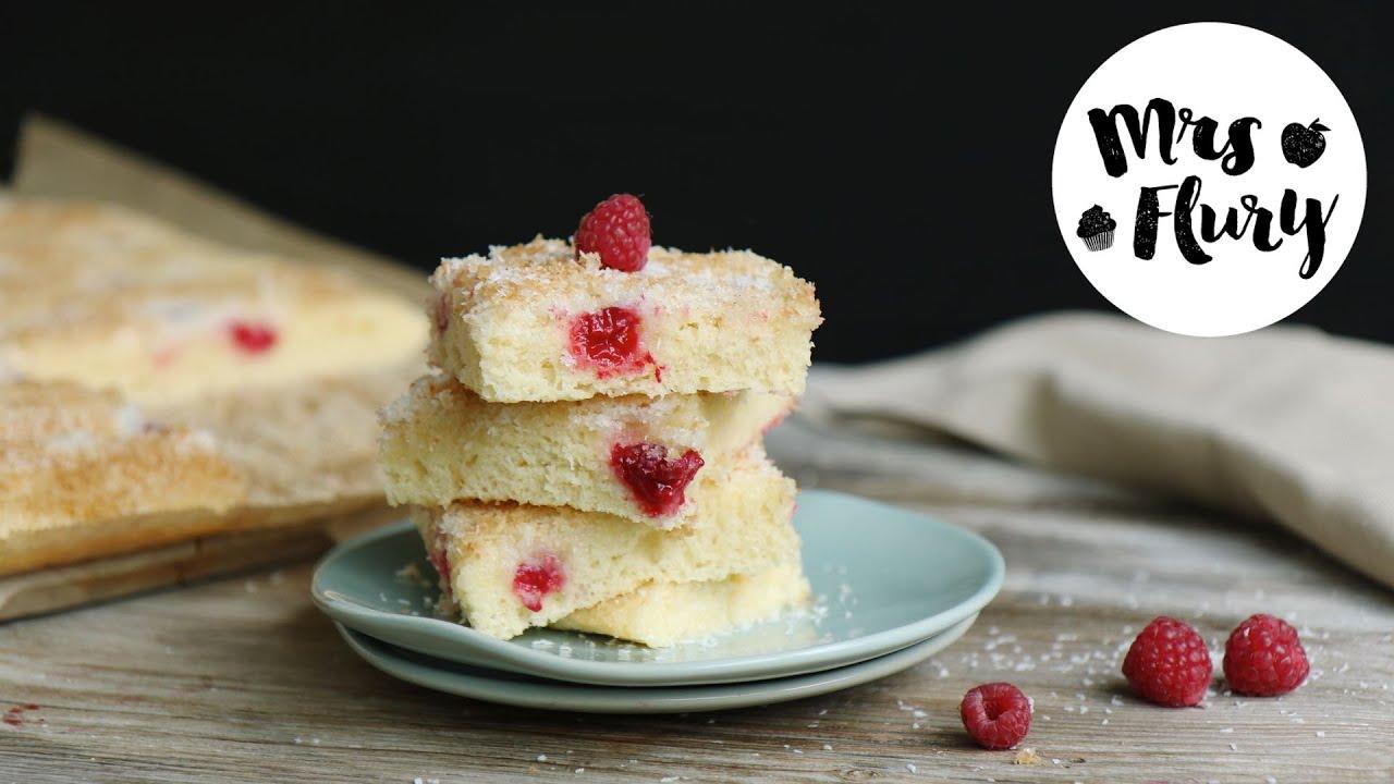 Himbeer Kokos Buttermilch Kuchen Rezept Tassenkuchen Schnell
