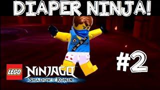 lego ninjago shadow of ronin walkthrough gameplay english commentary 3ds ps vita part 2 a hole