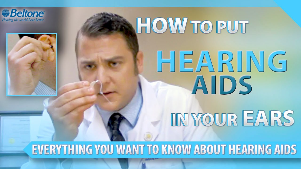 how to keep hearing aids from falling out