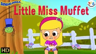 Little Miss Muffet - (HD) - Nursery Rhymes | Pop Rock Music Style | Popular Kids Songs