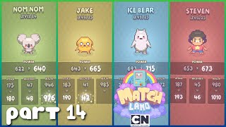 Cartoon Network Match Land PART 14 Gameplay Walkthrough - iOS / Android