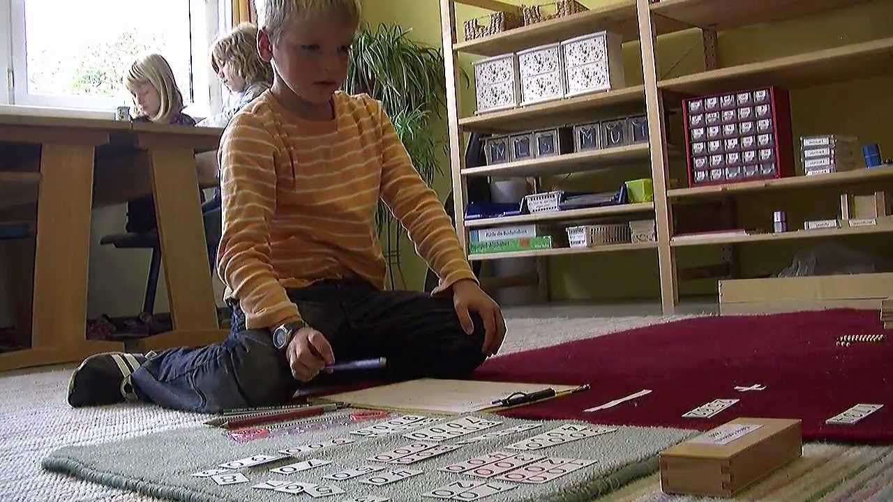 Lernen nach maria montessori youtube for Raumgestaltung montessori