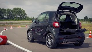 2016 Smart BRABUS fortwo Xclusive Black - Drive and Design