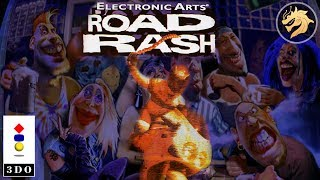Road Rash / Роад Раш | Panasonic 3DO 32-bit | Полное прохождение + все видеофрагменты