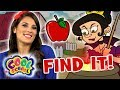 Find The Apples! 🍎Snow White - Story Time with Ms. Booksy | Find It Games | Cool School | Fairytale