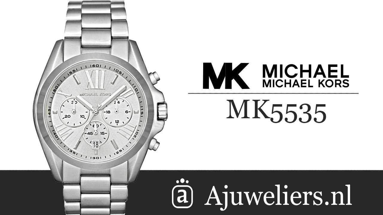 michael kors mk5535 horloges koop je bij ajuweliers youtube. Black Bedroom Furniture Sets. Home Design Ideas