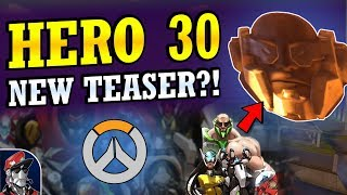 Overwatch HERO 30 Clue!? - Anubis New Hero Teaser? (Overwatch News)