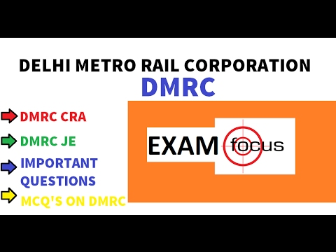 dmrc questions for dmrc je cra station controller very