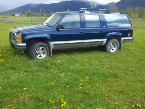94 suburban 454 v8 4×4 for sale