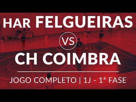 HAR Felgueiras [0] - [5] CH Coimbra | Jogo Completo | Grupo A | 1ª Jornada | 1ª Fase | 2/3/2019