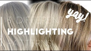 DIFFERENT FOILING PATTERNS | BEAUTY SCHOOL SERIES