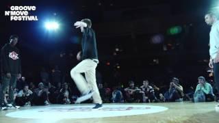 GROOVE'N'MOVE BATTLE 2017 - 1/4 Final Tutting - CelsoBoog vs Okami vs Fabrègue