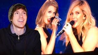 Taylor Swift & Ellie Goulding Singing