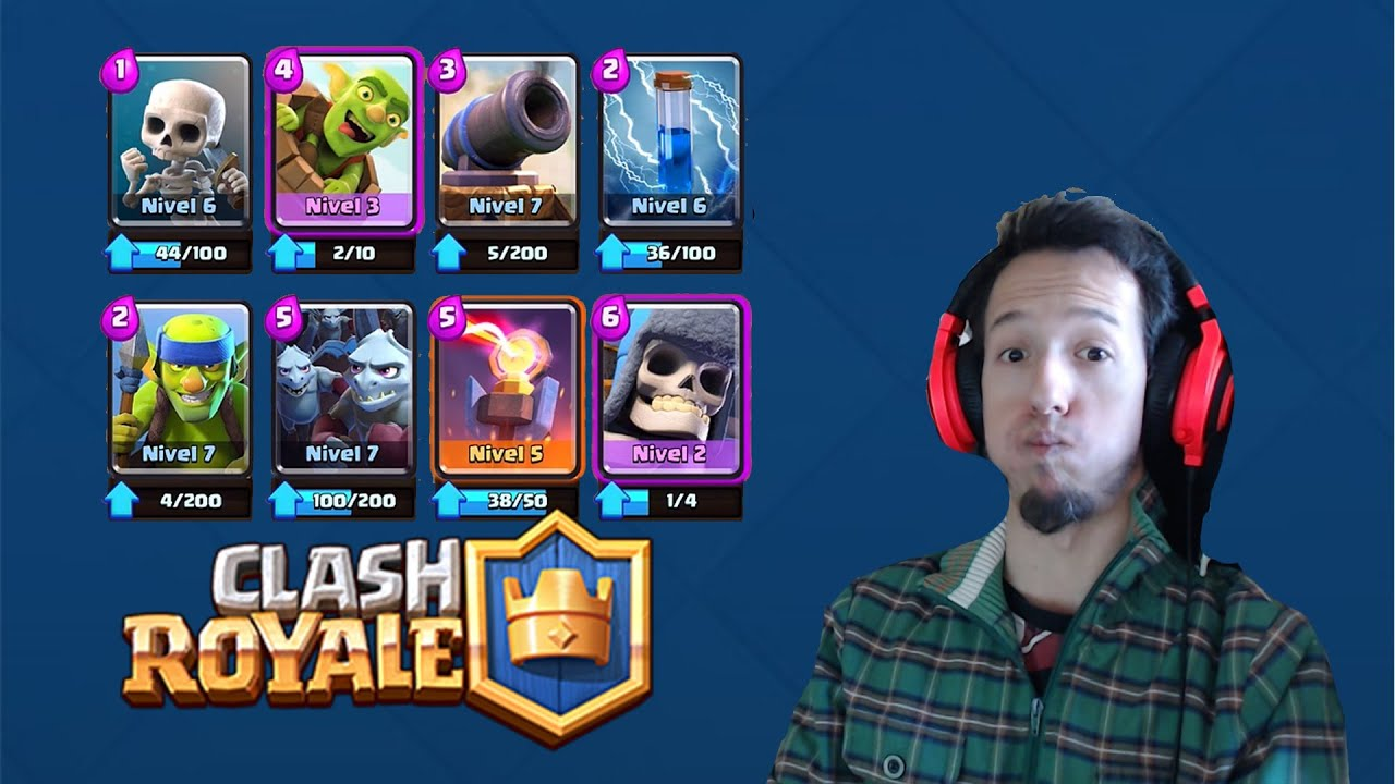 Clash Royale - Gigante esqueleto + Barril - Muy divertido!! - YouTube