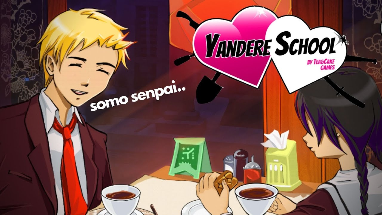 A DATE WITH SENPAI!! - Yandere School! [1]