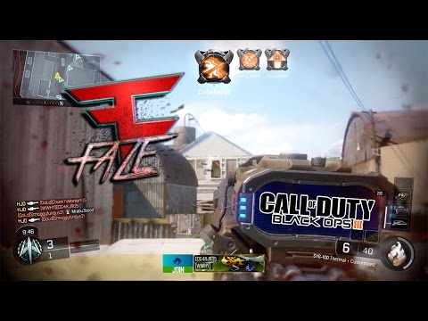 """FaZe Should SIGN ME UP AFTER THIS! Introducing """"FaZe HJD"""" (BO3 Sniper Montage)"""