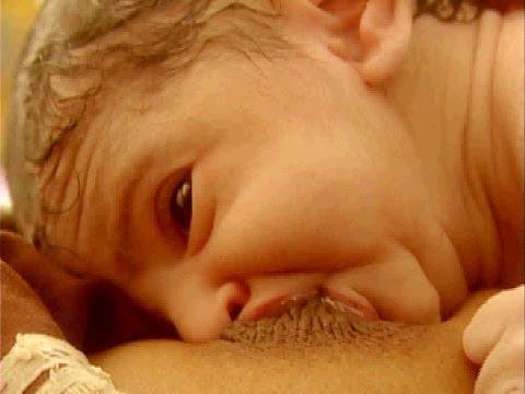 Breast Crawl - Initiation of Breastfeeding