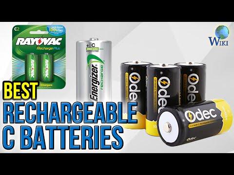7 Best Rechargeable C Batteries 2017