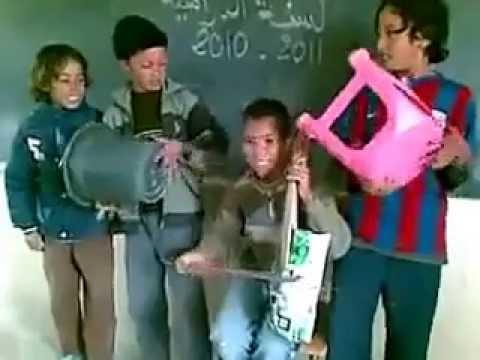 اطفال يغنون الشعبي في القسم حماق 2014 thumbnail