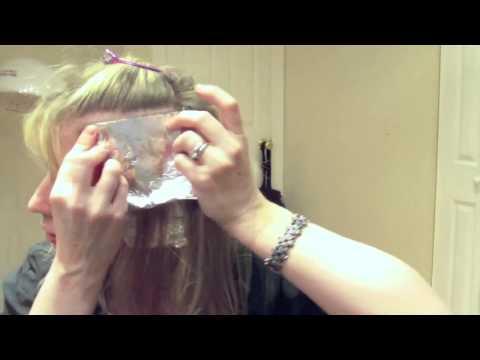 Как сделать себе самой мелирование волос