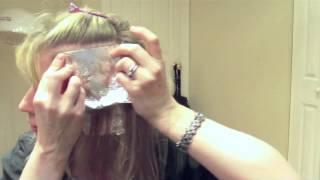 видео как сделать мелирование в домашних условиях